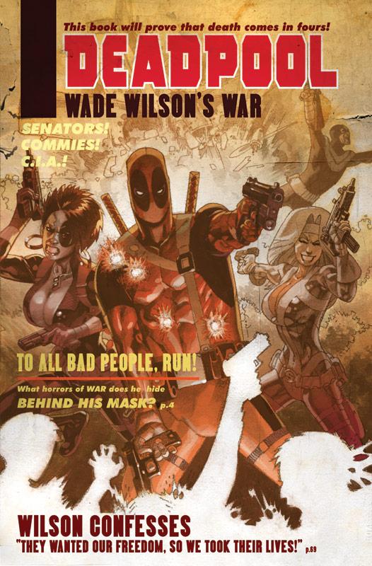 Deadpool cover by Jason Pearson