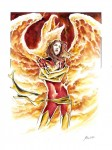 Miracole_Dark Phoenix_watercolor