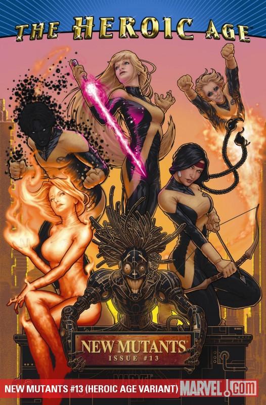 New Mutants X-men cover by John Tyler Christopher