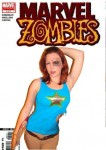 Zombie Mary Jane from Spider-man