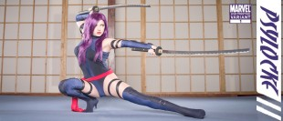 Psylocke in Training