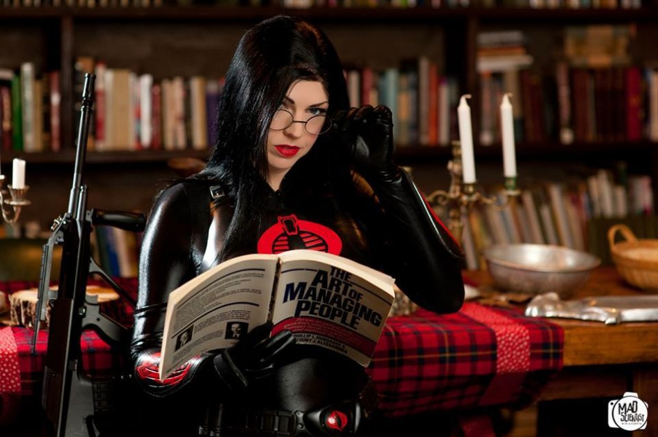 Baroness hits the Books