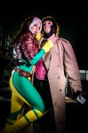 Miracole & Chris as Rogue & Gambit