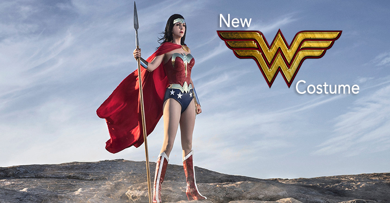 New Wonder Woman Costume & Photoshoot